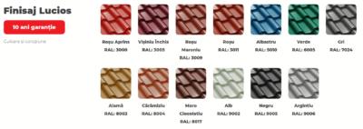 Culori Bilka Romanic Lucios