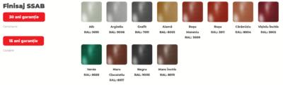 Culori Drenaj Bilka SSAB